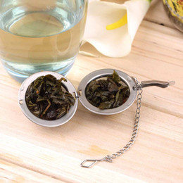 Wholesale Brand Filters - 1pc Stainless Steel Sphere Locking Spice Tea Ball Strainer Mesh Infuser Filter Brand New
