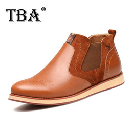 Wholesale Inside Sole - Excellent quality leather, non-slip rubber outsole leather, tendon soles,Sets foot high wall Pigskin inside England Casual TBA