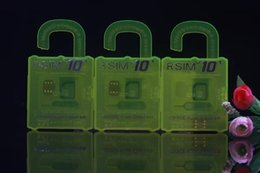 Wholesale Iphone Offers - Factroy offers!R-SIM 10+ Rsim 10+ Unlock Card for iphone 6s 6 5S 5 4S ios9 9.X 3G 4G CDMA Sprint, AU, Softbank s direct use no Rpatches