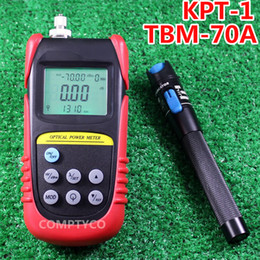 Wholesale Power Cable Fault - Wholesale-5KM Visual Fault Locator Fiber Optic Cable Tester and Optical Fiber Power Meter (-70dBm~+6dBm) Fiber Optic Power Combination