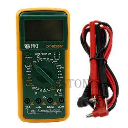Argentina J34 envío gratis DT9205M LCD multímetro digital voltímetro amperímetro amperímetro probador de capacitancia caliente Suministro