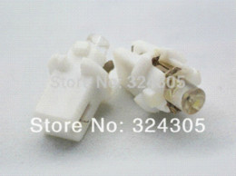 Wholesale Console Lamps - NEW 10X T5 B8.3D 1 LED boat bulb Instrument lamp speed table console light bulb white red blue