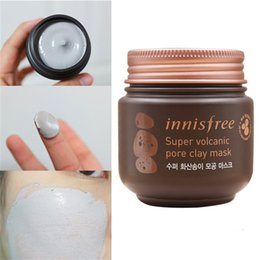 Wholesale Volcanic Clay - Innisfree Mask Innisfree Super Volcanic Pore Clay Mask With Scoria And Green Complex Blackhead Remover Peel Off Peel Mud Mask