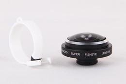 Wholesale Detachable Clip Fish Eye Lens - Black Universal Detachable Clip on 235 Degree Super Fisheye Fish Eye Camera Lens for iPhone 4S 5S 5C 5 6 6+ Samsung S3 S4