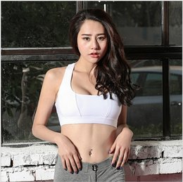 Wholesale Low Price Rims - Yoga Outfits running fitness sporting underware Back cross Shock proof bra without steel rim for high strength with lower price