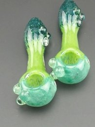 Wholesale Fancy Types - Glass Gandalf Pipe SMOKING PIPE Collectible Fancy Glass Pipe Smoking Tobacco Hookah