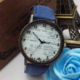 Wholesale Pc Wrist Watch - 200 pcs lot 2015 Fashion Casual Luxury Cowboy Wrist Watches Graffiti Billiards Women Dress Wristwatches 8 colors