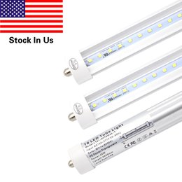 Wholesale Philips Wholesalers - T8 LED Light Tube, 8ft 45W Fa8 Single Pin ,Replacement Philips 38177-4 - F96T12 CW HO - 110 Watt Fluorescent Tube, 6000K (Cold White)