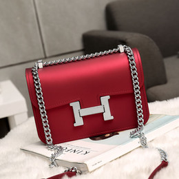 Wholesale Mini Bags For Women - Simple Jelly Chain bag shoulder messenger bag leather messenger bags for women big over the shoulder purses
