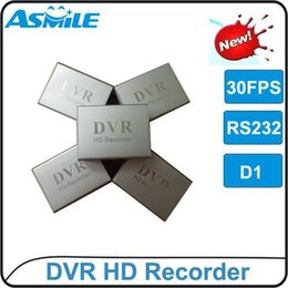 Wholesale Asmile Dvr - 1CH XBOX DVR with RS232 port single one channel CCTV DVR from asmile