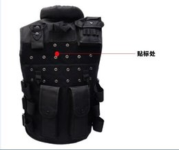 Wholesale Tactical Hunting Vests - Male SWAT FBI Military Army Tactical Vest Men's Outdoor training waistcoat sleeveless jacket Men many multi pockets hunting vest