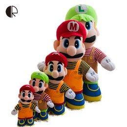 Wholesale Bears Plush Mario Bros - 1Piece New Super Mario Soft Plush Toys Cartoon Super Mario Bros Dolls For Children Stuffed Animals Toy Children Gift HT2866