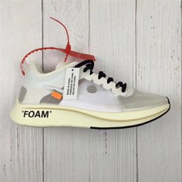 Wholesale Limited Run - Newest The 10 Virgil Abloh x Zoom Fly SP Vaporfly Elite KIPCHOGE Running Shoes Off Fashion Limited Release Authentic Sneakers