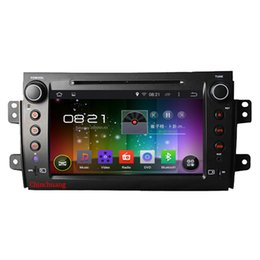 Wholesale Car Radio Gps Suzuki - HD1024*600 Quad Core Android 4.4 Car DVD GPS for Suzuki SX4 2006-2012 with 16G iNAND Radio RDS Mirrorlink WIFI,Free 8G Map