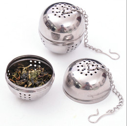 Wholesale Tea Egg Shaped Ball - 1pcs Silver Stainless Steel Tea Locking Spice Egg Shaped Ball Shaped balls filter CB5