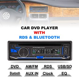Wholesale Rds Transmitter - RK-8828B 12V 1 Din Bluetooth Car DVD Player Support VCD SD USB AUX Built-in AM FM RDS Radio Stereo CMO_21R