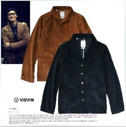 Wholesale Outerwear Water - Fall-2015 visvim men's autumn and winter clothing corduroy jacket outerwear vintage casual suit water wash