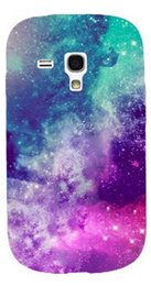 Wholesale Galaxy S3 Back Cover Blue - Wholesale-1PC Freeshipping Blue Purple Background mobile phone cases back cover shell For Samsung galaxy s3 mini i8190