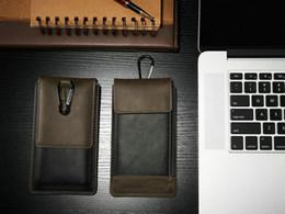 Wholesale Leather Pouch Case Horizontal - For iphone 6 leather Case horizontal flip belt Clip pouch Outdoor Belt Case Waist Bag Samsung s6 s3 s5mini note3 HTCM9 M8 Xperia z4 z3 LG G4