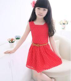 Wholesale Korean Boys Dressing - Children dress in summer 2017 Korean children big boy burst edition summer female foreign trade dress children dress wholesale Girls TZ149