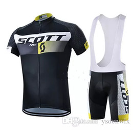 Wholesale Scott Bike Clothing - 2017 new Scott pro cycling jersey Bisiklet team sport suit bike maillot ropa ciclismo Bicycle MTB bicicleta clothing set