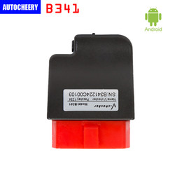 Wholesale Audi Bluetooth Module - V-checker iOBD B341 Bluetooth 2.1 OBD Module for Android mobile phone