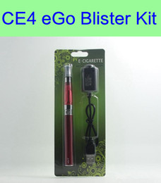 Wholesale Ego Vaporizer Starter Kits - ego ce4 blister kits ego batteries ecig batteries and CE4 vaporizer other atomizers e cigarette starter kits