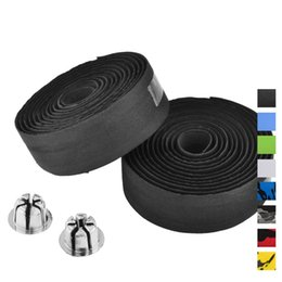 Wholesale Bicycle Handlebars Tape - Cycling Handle Belt Bike Bicycle Cork Handlebar Tape Wrap Bicycle Grips