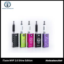 Wholesale Itaste Clearomizer - Innokin iTaste MVP 2.0 Shine Edition Starter Kit With 2600mAh Variable Voltage Battery clearomizer 100% Original