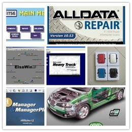 Wholesale Auto Usb Vw - 49 in1 alldata 10.53 and mitchell on demand auto repair software + mitchell manager plus +moto heavy truck 1tb hdd 3.0 usb