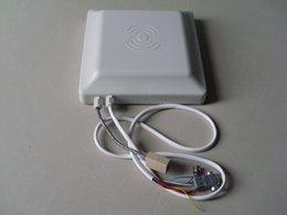 Wholesale Rfid Uhf Antennas - 6 meter 915 Mhz uhf rfid reader writer 30 dbm 8 dbi built-in antenna ISO18000-6C  6B & EPC C1G2