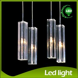 Wholesale Crystal Blocks Wholesalers - Modern Minimalist Fashion Pendant Light K9 Crystal Block S-shaped Transparent Duplex Staircase Chandelier Stair lamp Penthouse stairs Lamps