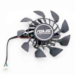Wholesale Graphics Cards Asus - Wholesale- FD9015U12S 0.55A 85mm Graphics card Fan VGA cooler For ASUS GTX970 GTX960 GTX950 GTX760 GTX670MINI Video Card cooling