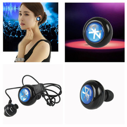 Wholesale Wireless Mini Headphones For Mobile - Mini Stereo Wireless In-Ear Bluetooth Earbuds Headsets Apple Galaxy mobile phone in Ear Headphones Earpieces for iPhone 6 6+ 5s 5c 4s 4