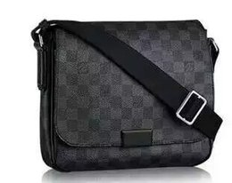 Wholesale Handle Designs - 2017 new quality men's leather brand classic brand business casual shoulder bag design package the best quality men's shoulder bag