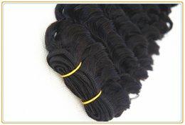 Wholesale Beautiful Queen Hair - Ali queen beautiful star deep wave natural color hair weave Brazilian virgin remy human 3pcs 100g pc hair extension