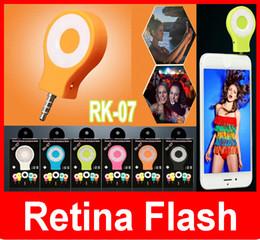 2019 filtro recubierto RK-07 Neight Uso de Selfie Enhancing Flash Light Teléfonos inteligentes Autodyne Flash LED flash compatible con IOS y Android