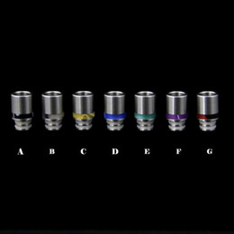 Wholesale Ce4 Mouth - Newest Stainless Steel & Acrylic Drip Tip Wide Bore Drip Tips Stainless Steel Drip Tip for 510 EGO CE4 Vivi Nova E Cig Tanks Atomizer Mouth