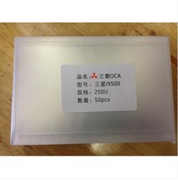 2019 adesivo samsung s5 300 PCS 250um Espessura OCA Optical Limpar Adesivo para Samsung Gaxaly s3 S4 S5 S6 S7 S8 Borda S8 Além de Mais adesivo samsung s5 barato