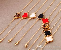 Wholesale China Sexy Women - cheap heart-shaped charm Bangle for women lady girl sexy fashion vintage Infinity clover gold color lucky Butterfly lovely Christmas Gift