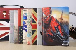Wholesale Wholesale Cover Ipad Usa - Magnetic 360 Rotating Heart Flower Butterfly USA UK Flag Flip PU Leather Smart Cover Case With Sleep Wake Stand For iPad Mini 4 Mini4