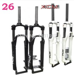 Wholesale Mtb Suntour - Wholesale-SR SUNTOUR Bicycle fork for 26 inch all size Mountain bikes fork disc brake xcr nex xcm Rock Shox mtb frame road free shipping