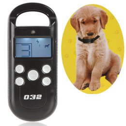 Wholesale Product Levels - 2016 New Pet Dog Training Collar & Transmitter System LCD 300M Remote Control 3 Electric Dog Trainer Products with 4 Shock Levels