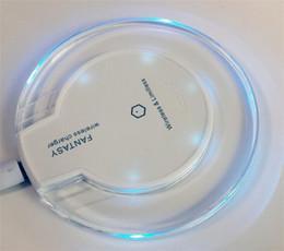 Qi carregador sem fio s6 borda on-line-2015 Venda Quente Qi Carregador Sem Fio Carregador Pad Mini para Samsung S6 / S6 Borda 5/4 iPhone 4S / 5S / 6/6 PLUS
