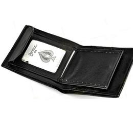 Wholesale Free Card Tricks - Free shipping Card to Wallet Magic, Close up Magic wallet, Classic magic tricks