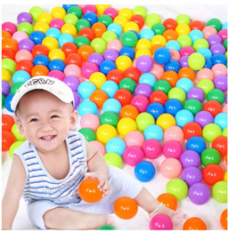 Wholesale Kids Swimming Item - 200pcs 5.5cm Secure Baby Kid Pit Toy Swim Fun Colorful Soft Plastic Ocean Ball