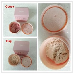 Wholesale Powder Delivery - 2017 KYLIE king& Queen Loose powder latest official website release THE BIRTHDAY COLLECTION KING-QUEEN ULTRA GLOW DHL Free delivery