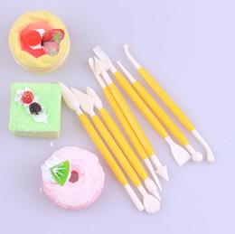 2019 modelli di fiori di torta 8pcs torta del fondente che decora il taglierina dello strumento del sugarcraft delle argille del mestiere di modellistica del fiore che spedice liberamente sconti modelli di fiori di torta