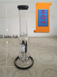 Wholesale Gb Bullet - 2015 new high quality Glass bong glass smoking pipe with 1 bullet percs(GB-280)