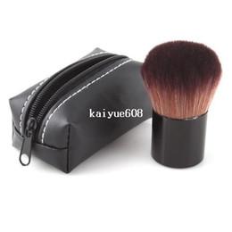 Wholesale Plastic Mushrooms - 10Pcs 2014 Special Mushroom Design Makeup Brush Pro Blush Loose Power Brush Kabuki with Brand-new Case#18995